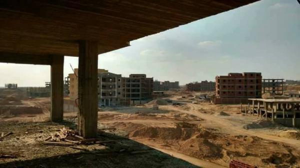 قطعة أرض 414م بالمنطقة أ 6 أكتوبر خلف حي الأشجار
