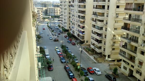 بمدينة الفسطاط الجديدة شقة للبيع