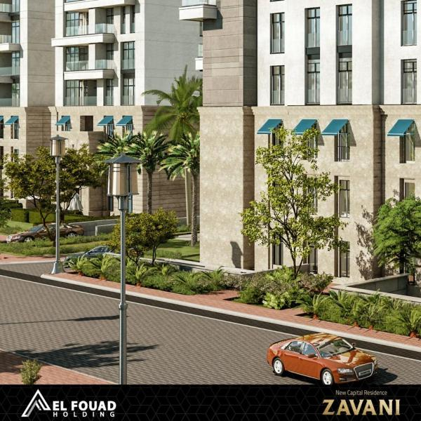 امتلك شقة بفيو رائع مع جاردن في العاصمة الاداريةR7