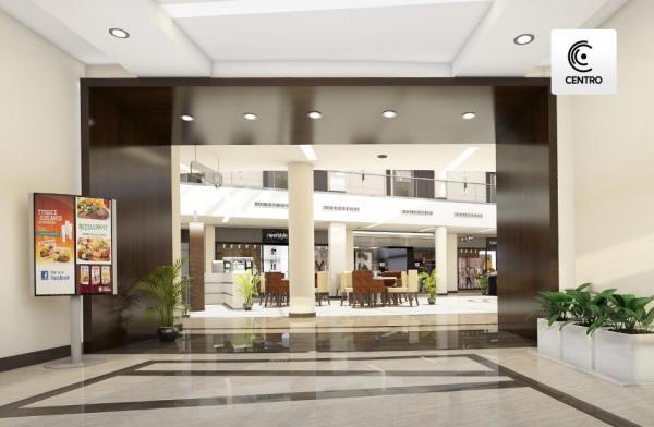 محل بمساحة خارجية 50 م للبيع بمول Centro